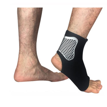 Sport Elastic High Protect Plantar Fasciitis Best Ankle Protector Guards Brace Sleeve For Basketball