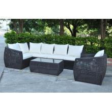 Patio muebles al aire libre ratán sofá de jardín sofá de lujo