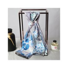 Soft texture mulberry silk scarf