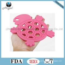 Cutie tartaruga silicone tapete de cozinha Placemat Sm17
