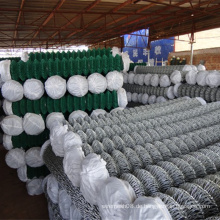 Maschendrahtzaun / galvanisierter / PVC-überzogener Maschendrahtzaun