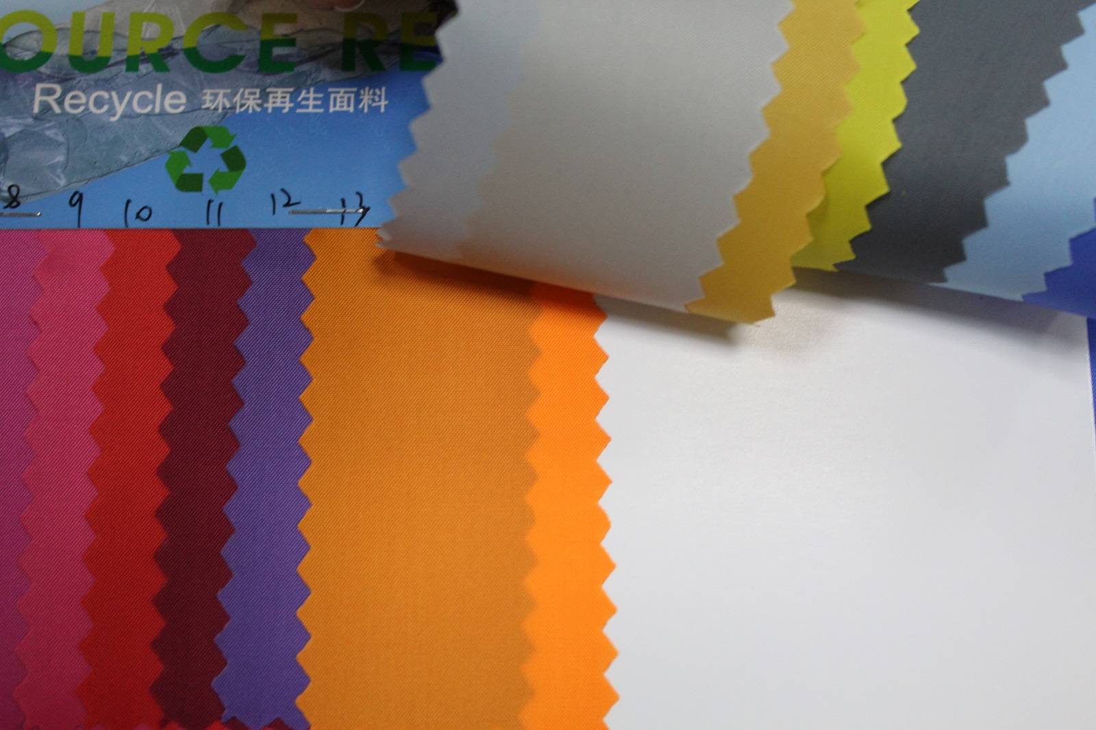factory direct sale 210 taffeta pu fabric