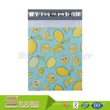 Bonito diseño impreso tamaño personalizado 10x13 2.5 sobres publicitarios poli bolsas para el envío