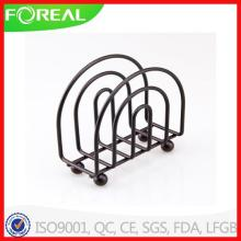 Black Powder Coating Home Basics Napkin Holder