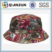 Пользовательский дизайн этикетки логотип Популярные цветочные Blank Bucket Cap