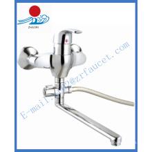 Torneira de água de misturador de cozinha monocomando de parede (ZR21503-A)