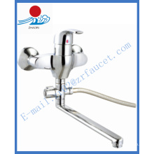 Односторонний настенный латунный смеситель для кухни для кухни Faucet (ZR21603-A)