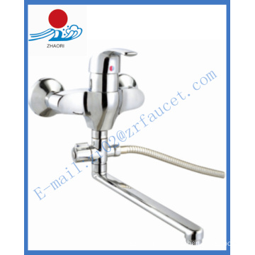 Single Handle Wall-Mounted Kitchen Mixer Water Faucet (ZR21503-A)