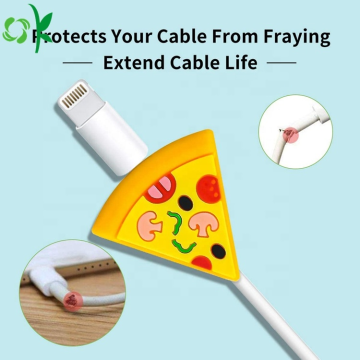 Cable Bite Fruit Silicone Cable Protector