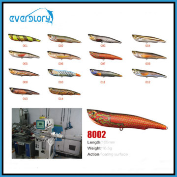 105mm/16.5g High Quality Coating Fishing Lure Hard Lure Fishing Tackle