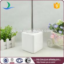Acessório banheiro branco acessório escova de cerâmica para a família