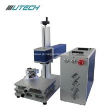 Máquina da marcação do laser da fibra 30w mini para o metal