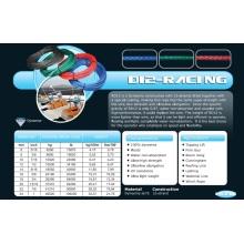 Различные размеры Д12-гонки Halyad/лист и веревка управления для гонок/Килевая лодка/Многокорпусных