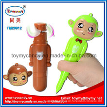 14cm Monekey Kugelschreiber Handheld Fan Spielzeug mit 3 Farben