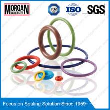 Jisb2401 / As568 / BS1516 Padrão NBR / FKM / PTFE / PU / Silicone Rubber O Ring