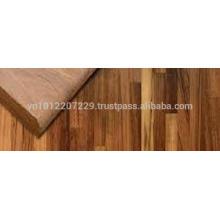 Tablero / tablero / tablero del laminado de la tablilla / de la junta del dedo del pie de la madera del Acacia / tapa del contador / tablero
