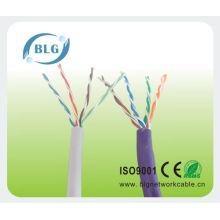 Cable 4P CCA LAN de alta calidad UTP Cat 5e para cableado de red