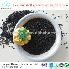 fabricante de carvão ativado granulado granulado de coco para desodorante