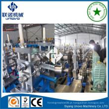 Máquina de formação de rolos de lâminas de persiana