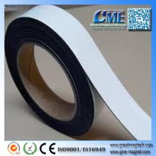 Weiße Magnetstreifen Magnetfolien mit Klebstoff