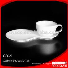 Eurohome manufacturer new design wholesale cheap ceramic large tea cups