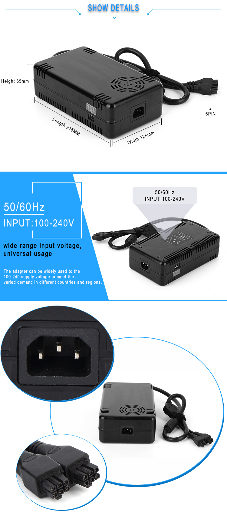 15v 20a power adapter