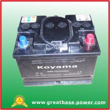646-12V55ah SMF Auto Battery na África do Sul