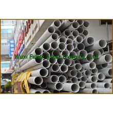 Tubulação de aço inoxidável sem costura de alta resistência à tração 202