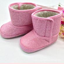 O bebê do inverno das botas do bebê das sapatas de bebê da menina carreg o Kx715 11)