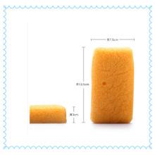 Plant Fiber Turmeric Yellow Konjac Sponge
