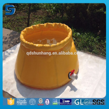 Vessie d'eau en PVC 30000 gallons, renforcée et pliable en usine