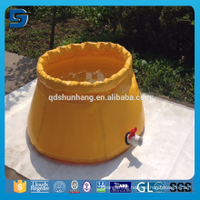 Factory Reinforced and Collapsible 30000 Gallon PVC Water Bladder