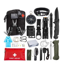 47 in 1 Professional SOS Tactical Survival Gear Tools First Aid Kit Emergency Survival Kit with Molle Pouch
