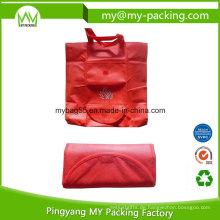 Tragbare pp. Nicht gesponnene Tote faltbare Werbe Tasche