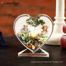 Sublimation Kristall Foto BXP13 Love Screen 105 * 110 * 35 mm