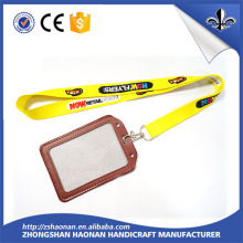 New Products 2016 Fashion Polyester Lanyard with ID Card Holder