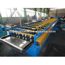 máquina de prensagem de deck de metal