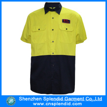 Wholesale China Factory Clothing Men′s Reflective Safety High Vis Shirt