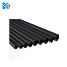 Professional custom pultruded triangular carbon fiber tube for drone parts