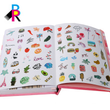 2018 agendas cardboard cover diary with ribbon bookmark