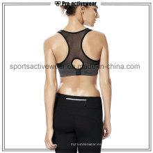 OEM 2016 moda nueva encantadora señoras cómodo sexy malla deportiva sujetador