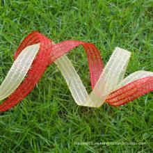 Cinta de organza ecológica, cinta de malla decorativa