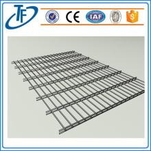Vente de clôture bilatérale en acier à faible teneur en acier au carbone