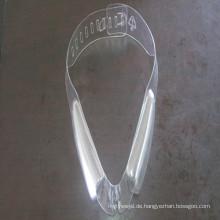 Ausgezeichnete Processablilty Hochglanz PVC Folie für Bekleidungszubehör