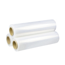 Casting LLDPE Packing Wrapping Stretch Film Plastic Strech Roll Plastic Packing Film Roll