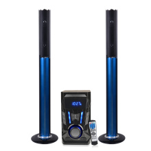 Standlautsprecher Bluetooth System mit Subwoofer
