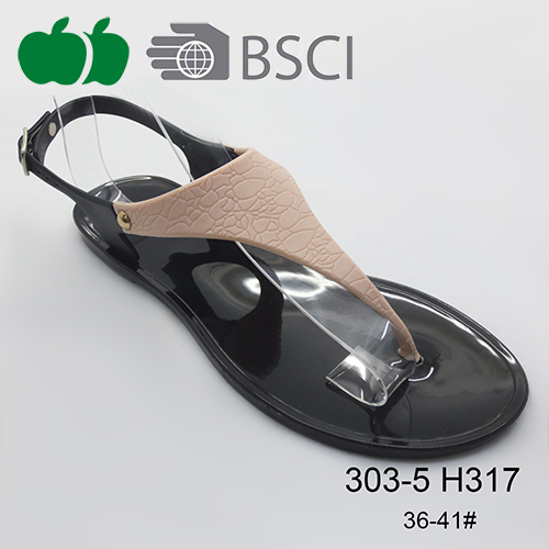 popular jelly sandals shoes
