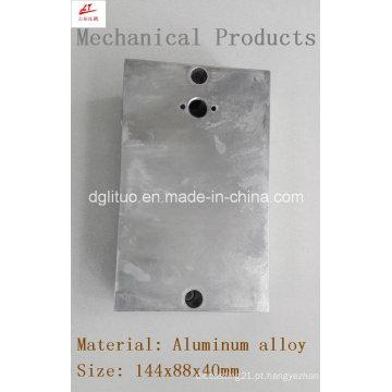 Alumínio Alloy Switch Cover Usado em Iluminação LED e Máquinas
