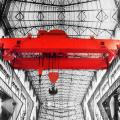 Electric Double Girder Heavy Equipment Crane For Factory