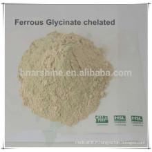 Additifs pour aliments pour éléments de traces Bisglycinate ferreux